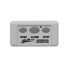 Linear 3 Button Open Close Stop MVP Quick Code Transmitter, 318 MHz