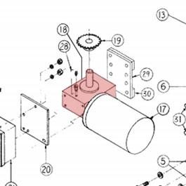Gear Reducer Linear 2200-097
