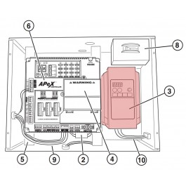 1/2 HP Hitachi Controller - Linear 2500-2246