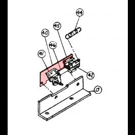 Linear / Osco 2100-541 Brake Plate