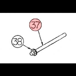 "Linear / Osco 2100-551 Fulcrum Rod (1/4"")"