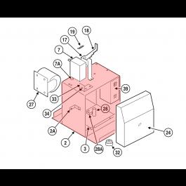 Linear / Osco 2110-796 Main Frame Assembly