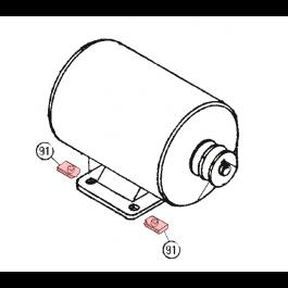 Linear / Osco 2400-422 U-Nut, 5/16-18