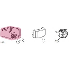 1/2 HP LDO Cover (Highlighted Part Only)