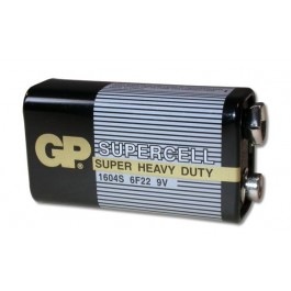 9 Volt Carbon Zinc Battery for Linear Transmitters