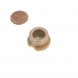 "Linear / Osco 2200-029 Flange Bearing (1/2"") - penny shown for scale"