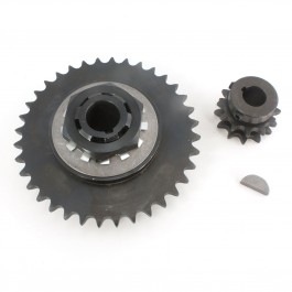 "Linear / Osco 2220-047 3"" Torque Limiter with Bushing and 40-A-36 Sprocket"