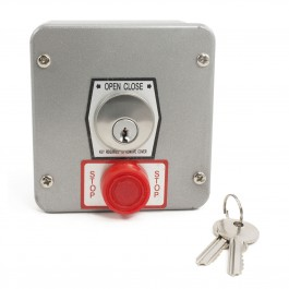 Exterior Key Station with Stop Button 2500-2483