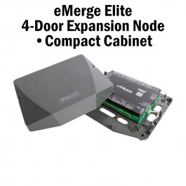 eMerge Elite 4-Door Expansion Node with Compact Cabinet