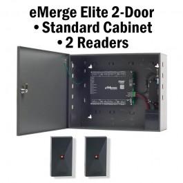 eMerge Elite-36/2-Door Standard Cabinet W/2-Reader Bundle System