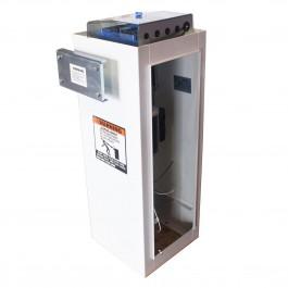 Linear BGU-10-311 1/3 HP Parking Barrier Gate Opener (White Powder Coat)