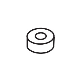Linear / Osco 2300-969 Plastic Elbow Offset Spacer