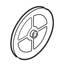 "Linear / Osco 2200-079 Single Pulley (7"")"