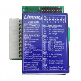 Linear 2500-2346 Plug-in Loop Detector for Apex Control Board