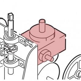 Linear / Osco 2200-957 Gear Reducer 60:1 (for 1 HP)