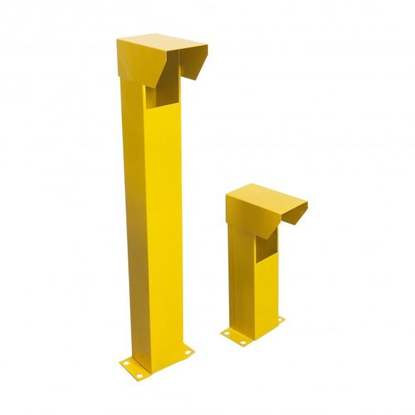 Linear 2120-478-YS Photo Eye Mounting Pedestal Set (Yellow, Smooth)