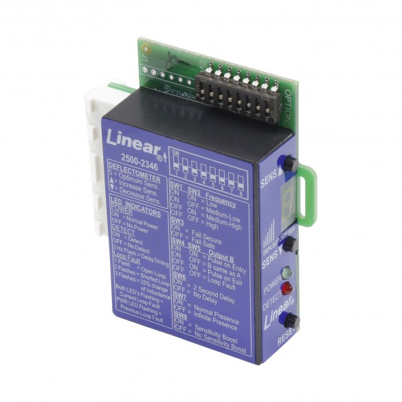 Linear 2500-2346 Plug-in Loop Detector for Apex Control Board