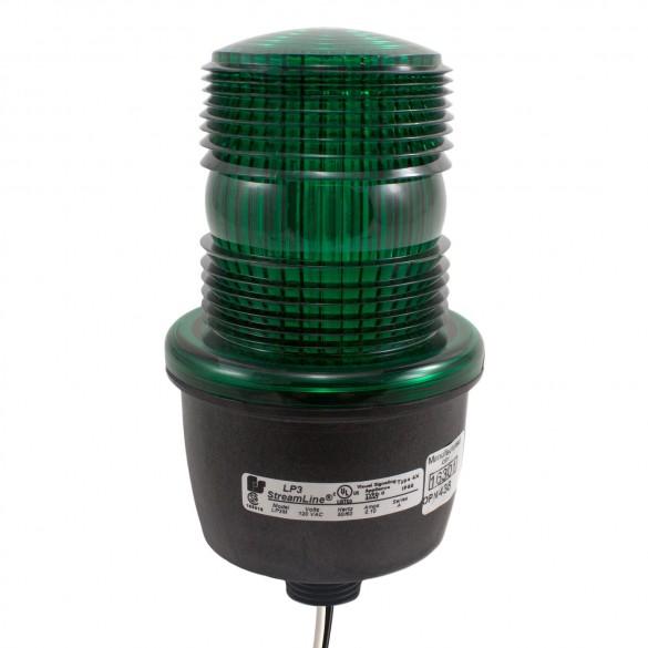 Linear 2510-336 Flashing Strobe Signal Light (Green)