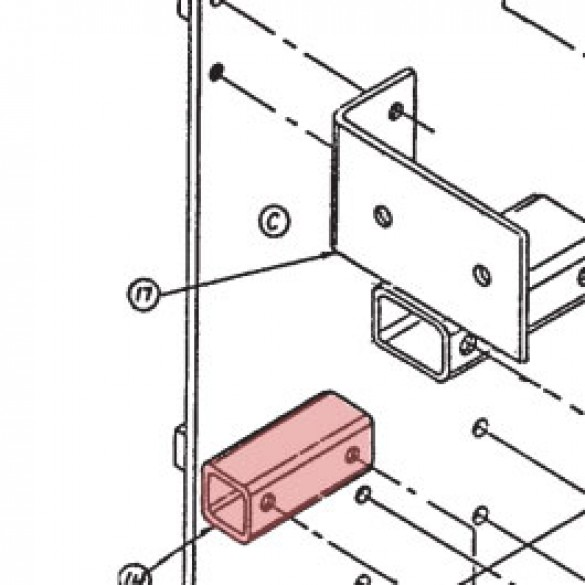 Bearing Spacer and Bracket Assembly - Linear 2110-173