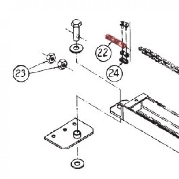 Chain Tension Bolt - Linear 2100-054