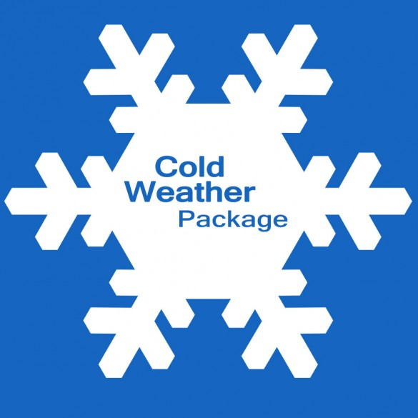 Factory Option 2650-112-03 Cold Weather Package for 230-volt BGUS