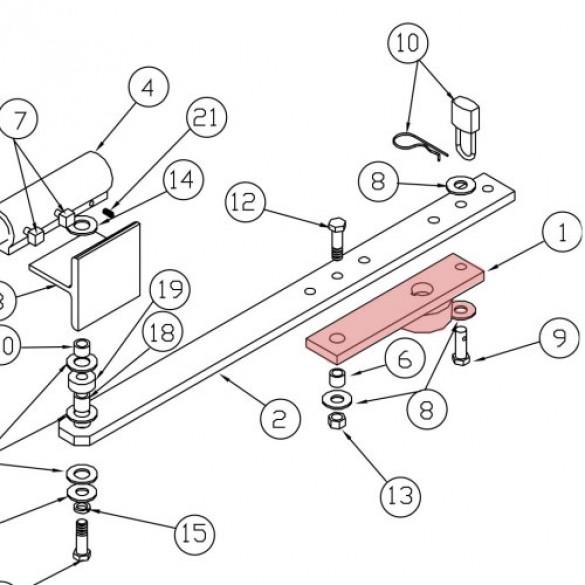 Crank - Linear 2100-1913-BT