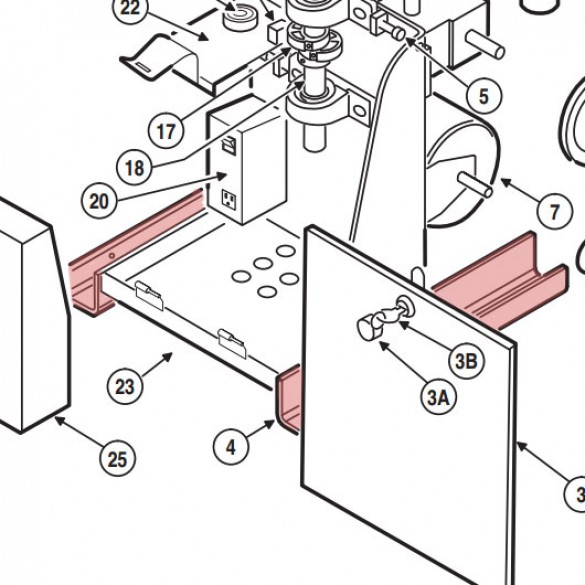 Frame Assembly - Linear 2110-785