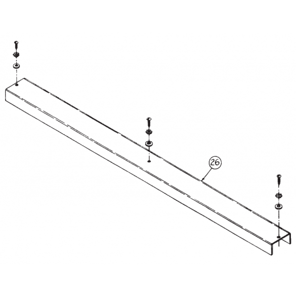 "Linear / Osco 2100-1167-BT Cover for 63"" Arm"