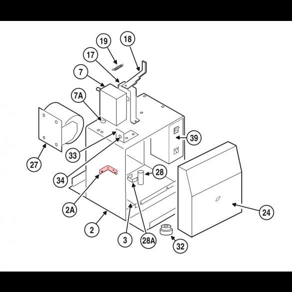 Linear / Osco 2100-2006 Lock Tab Bracket