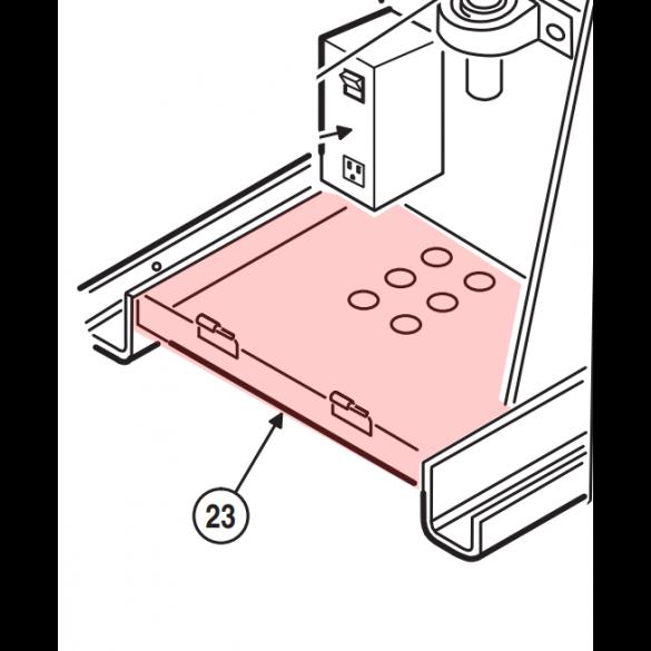Linear / Osco 2100-2024 Accessory Mounting Shelf