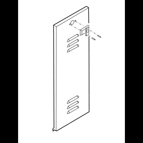 Linear / Osco 2110-318-WS Door Louvered with Lock BG BGU