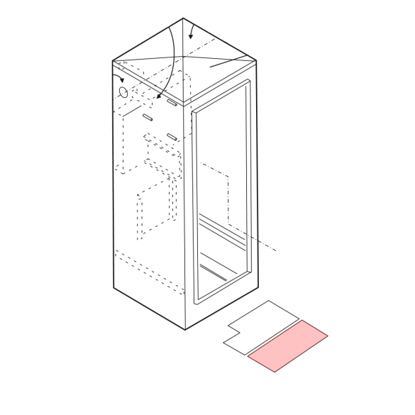Linear / Osco 2100-1820 Front Accessory Shelf