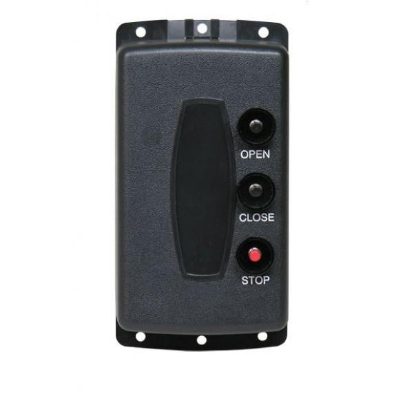 Linear 3 Button 1 Door Stationary Transmitter, 318 MHz