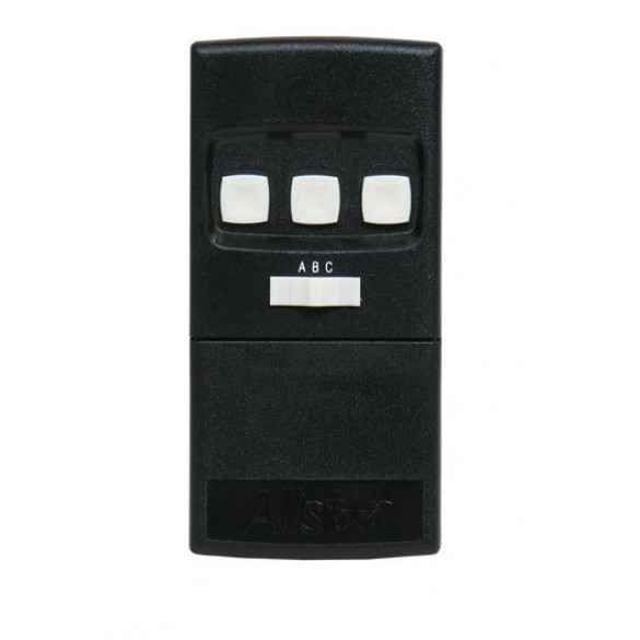 Linear Commercial 3 Button 3 Door Open Close Stop Transmitter, 318 MHz