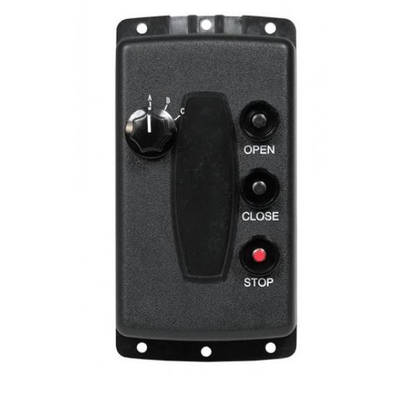 Linear 3 Button 3 Door Stationary Transmitter, 288 MHz