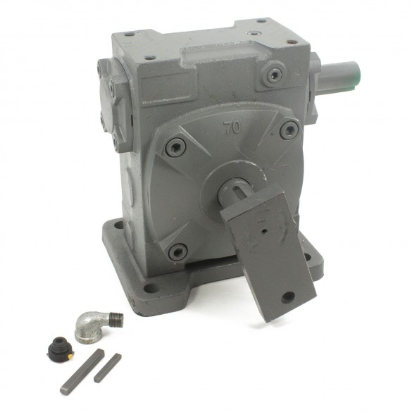 2110-117 Gear Reducer 75:1 Sg with Crank