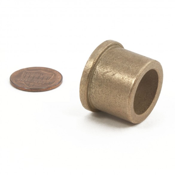 2200-136 Brg 5/8 X 7/8 X 3/4 Ltb Oil (penny shown for scale)