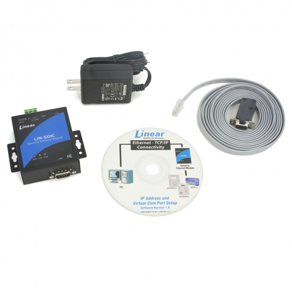 Linear AM-SEK Serial to Ethernet Kit for Plus Panels - ACP00964