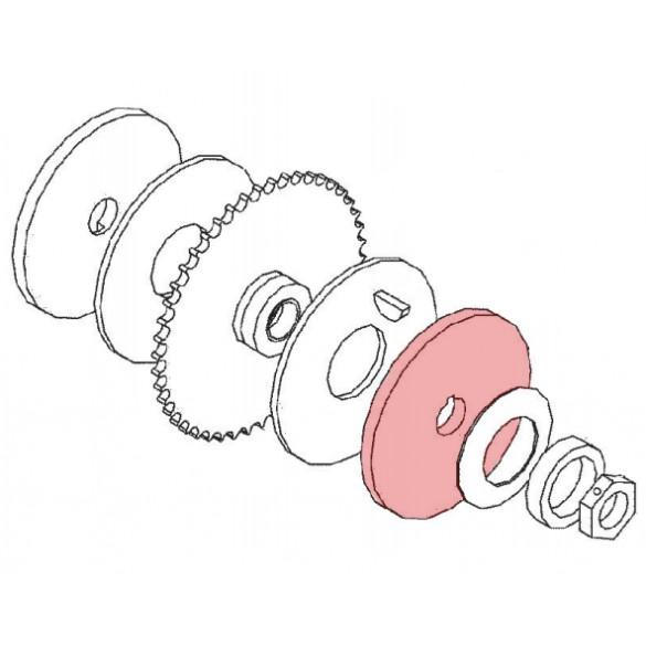 Linear / Osco 2100-1661 Keyed Plate