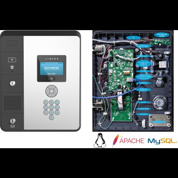 """Linear e3 Entry 4.3"""" Multi-Door Telephone & Access Control System (ArmorTech) - EN-2A4"""