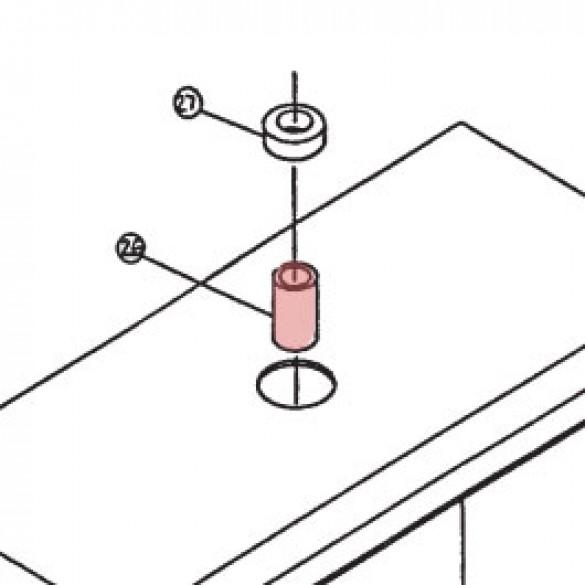 Moisture Seal Spacer - Linear 2100-1344-PLT
