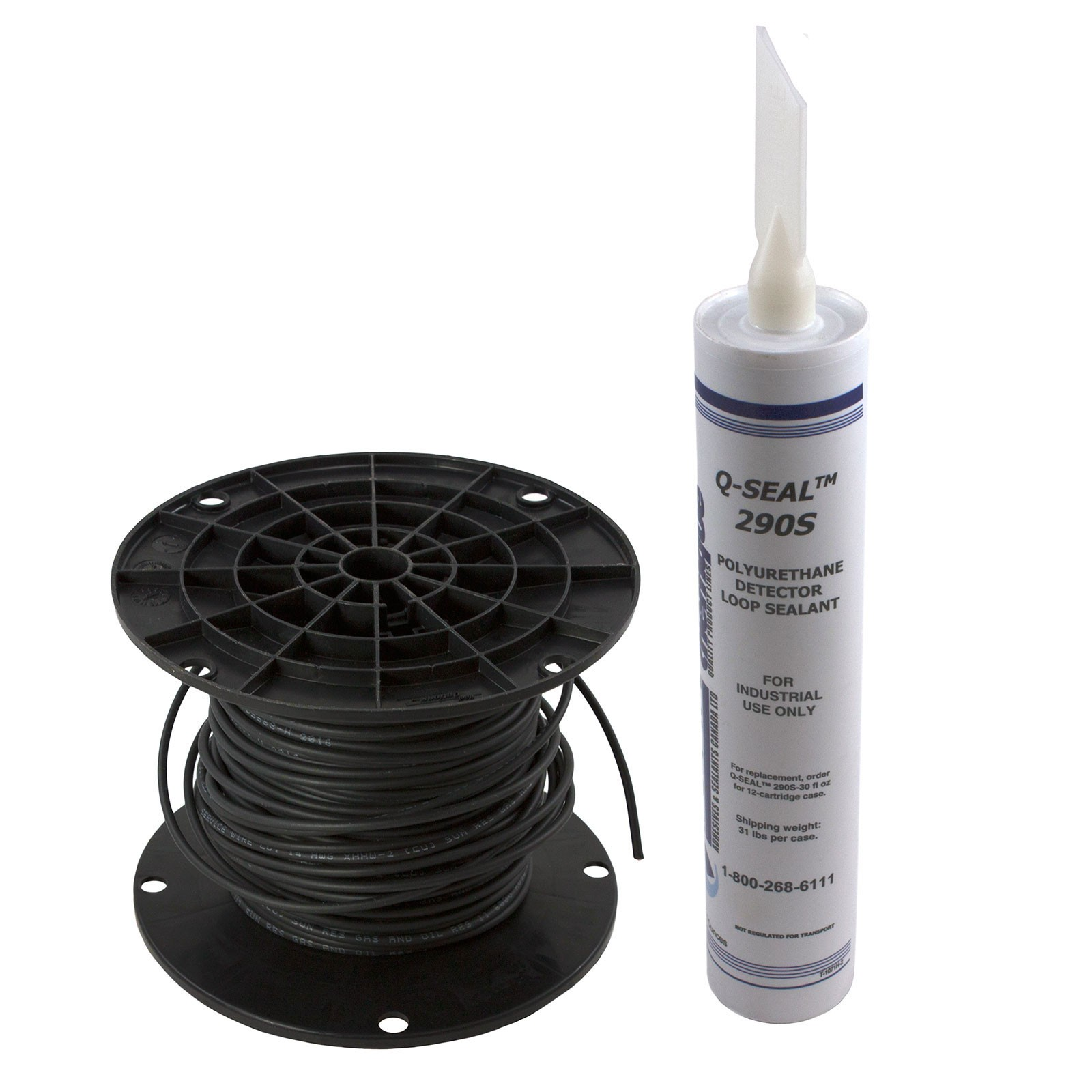 Linear 2510 015 Loop Wire Kit With One Tube Of Sealant