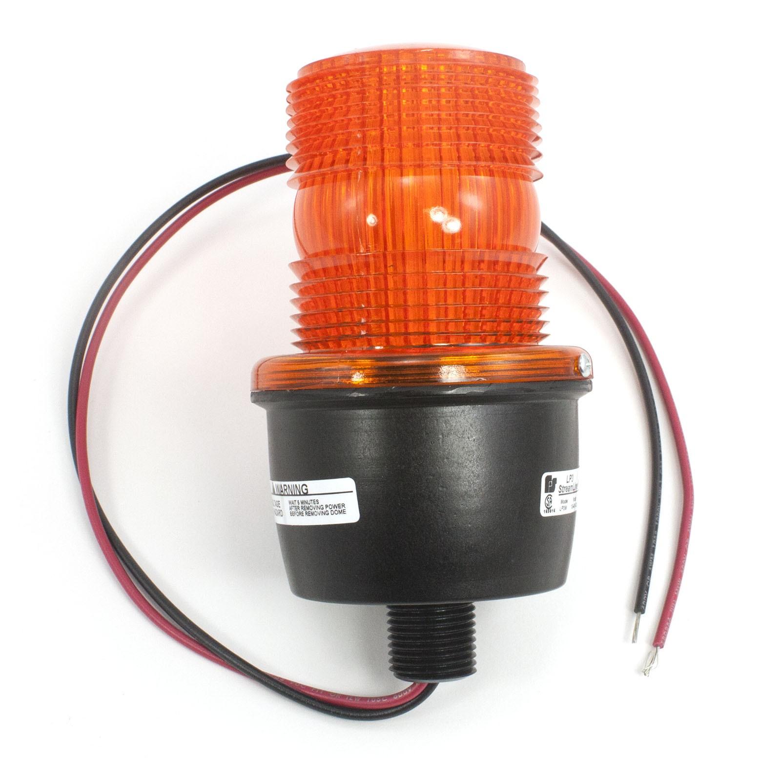 Linear Osco 2510-337: Flashing Strobe Signal Light (Amber