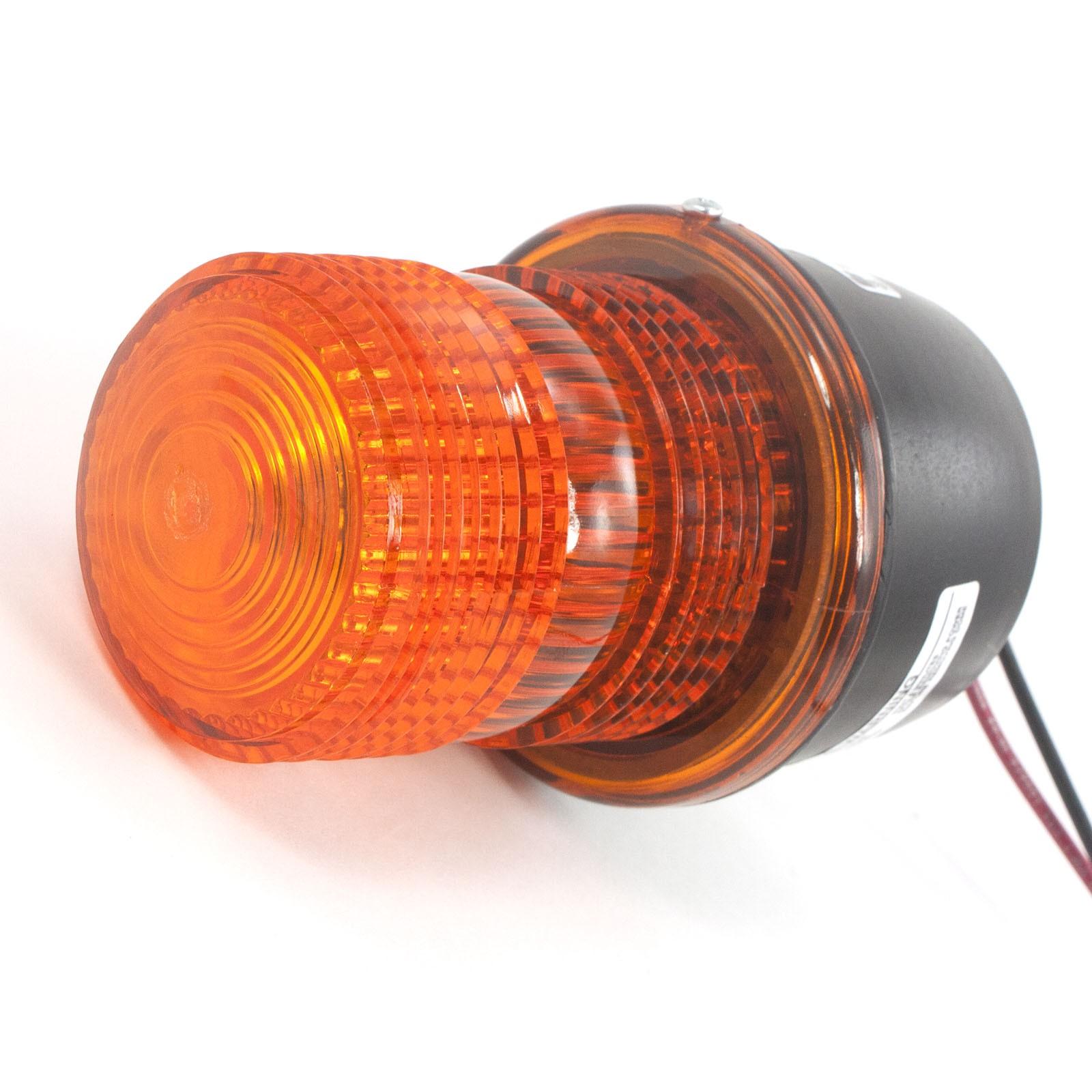 Garage Door Green Light Blinking: Linear Osco 2510-337: Flashing Strobe Signal Light (Amber