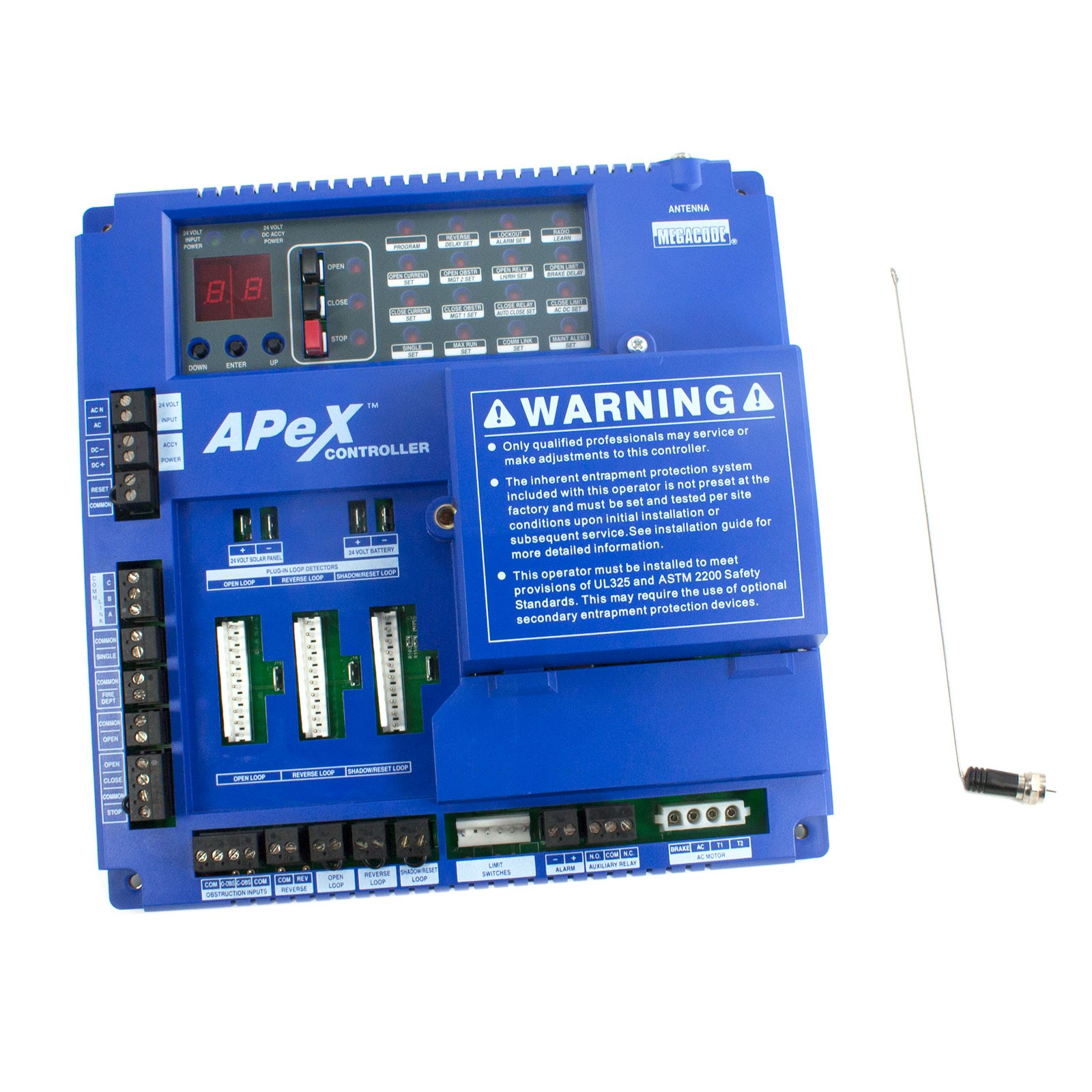 linear osco 2510 439 apex module pwm motor bd assembly linear rh lineargateopeners com linear apex gate controller manual Apex LRA Gate Controller