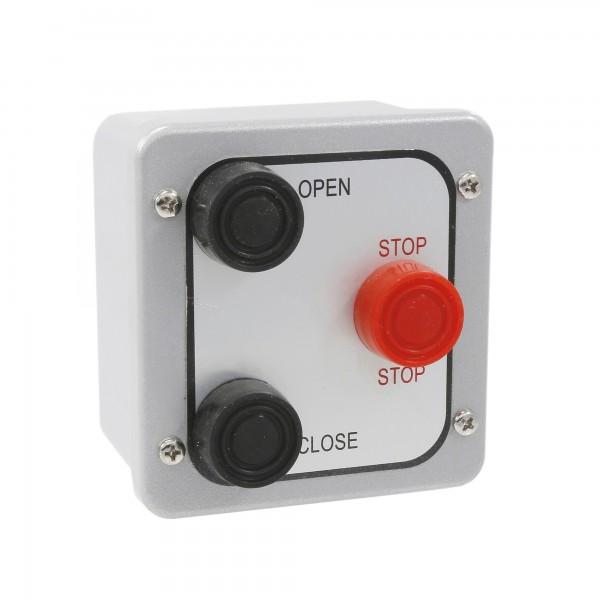 Exterior Three Button Station - Linear 2500-1482