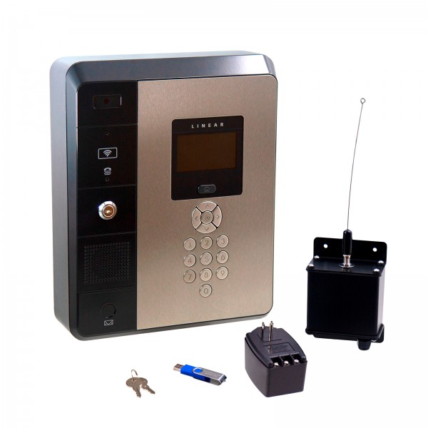 "Linear e3 Entry 4.3"" Multi-Door Telephone & Access Control System (Metal) - EN-2M4"