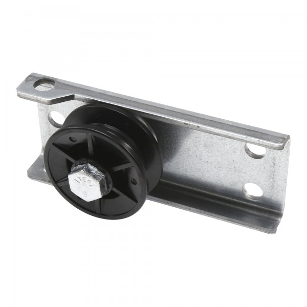 Linear Garage Door Opener Railing HCT Pulley & Bracket - HAE00014