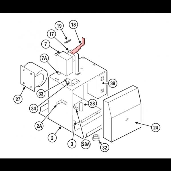 Linear / Osco 2100-2059-PLT Disconnect Lever