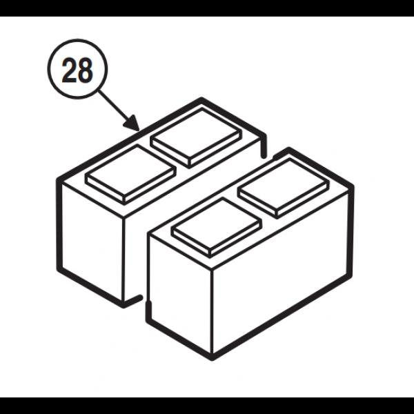 Linear / Osco 2510-182 Battery Assembly
